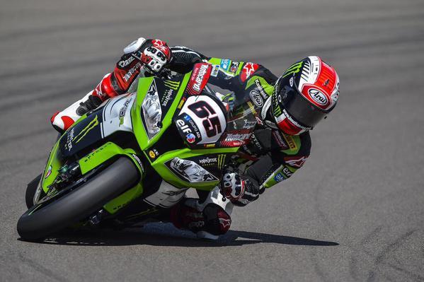 Jonathan Rea Kawasaki Jerez Campione del Mondo 2015 WSBK