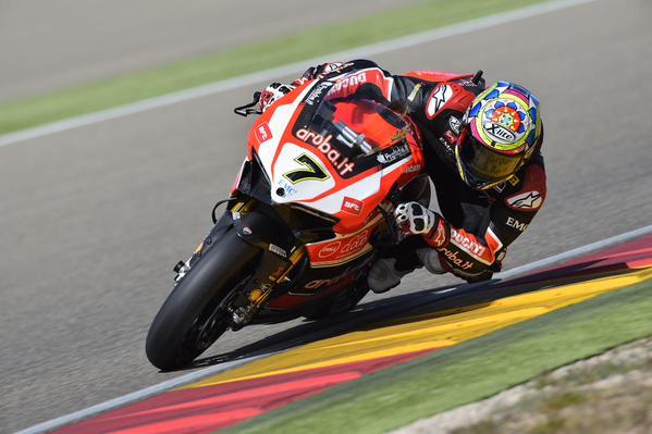 Chaz Davies Ducati Panigale 1199R Jerez Race 2 2015