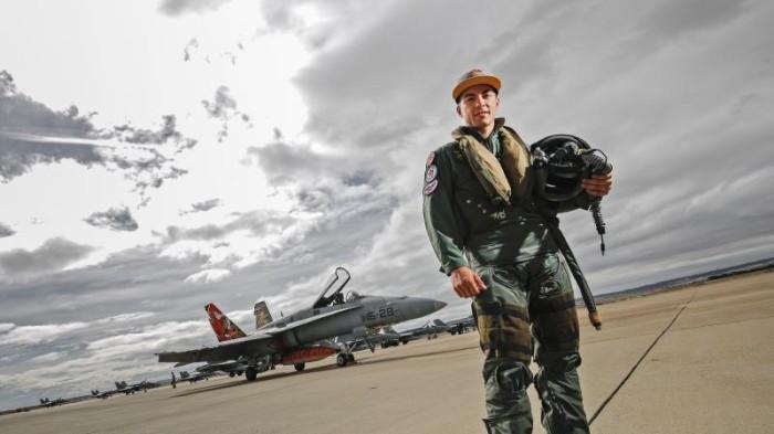 Maverick Vignales caccia bombardiaere aragon 2015