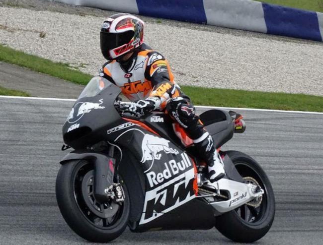 Test KTM RC16 MotoGP Mika Kallio RedBull Ring