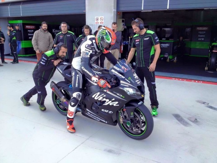 Tom Sykes Test WSBK 2016 Kawasaki Ninja ZX-10R 2016 Sound Video