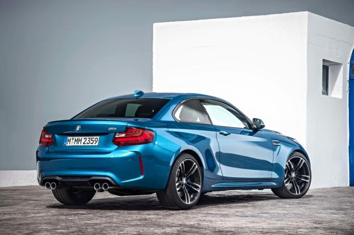 BMW M2 coupé dati foto e video