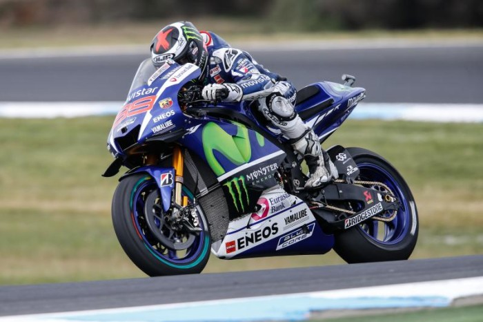 Jorge Lorenzo MotoGP Phillip Island Australia 2015