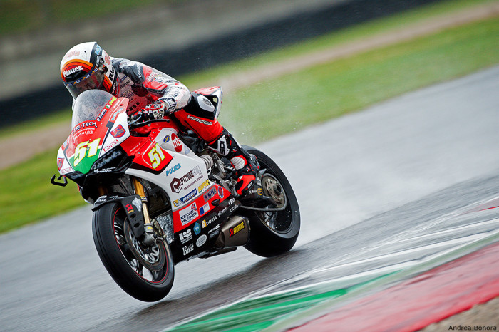 Michele Pirro Ducati Barni Racing Team CIV Mugello 2015
