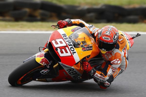 Marc Marquez Honda HRC Australia GP Phillip Island 2015 Pole Position