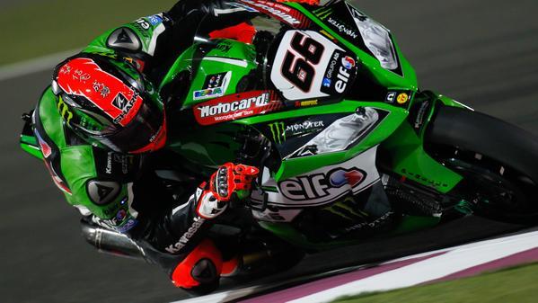 Tom Sykes Kawasaki Losail Qatar WSBK 2015