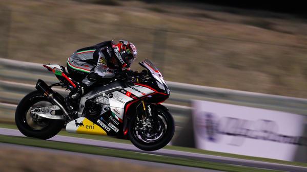 SBK Qatar 2015 Gara 1 Jordi Torres Aprilia RSV4 RF