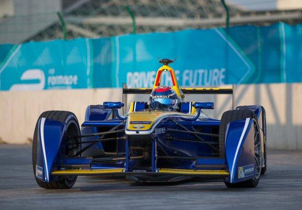 Sebastien Buemi ePrix Beijing Formula E 2015-16
