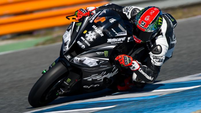 Kawasaki: tre giorni di Test ad Aragon per Sykes con la nuova Ninja 2016