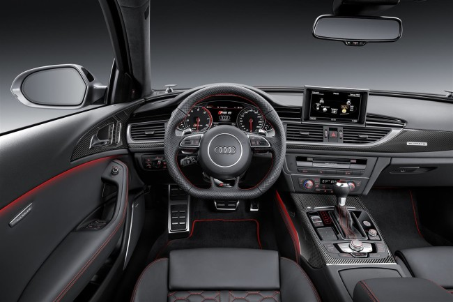 Interni Audi RS 6 RS 7 Performance 2016