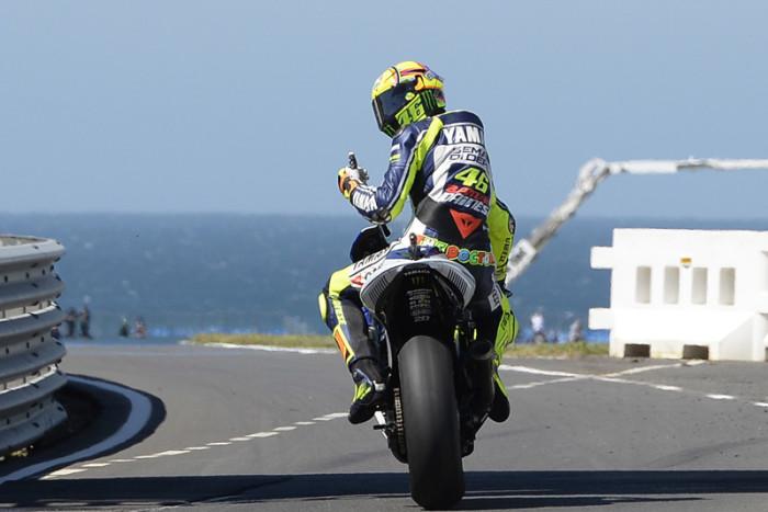 Valentino Rossi Phillip Island MotoGP 2015