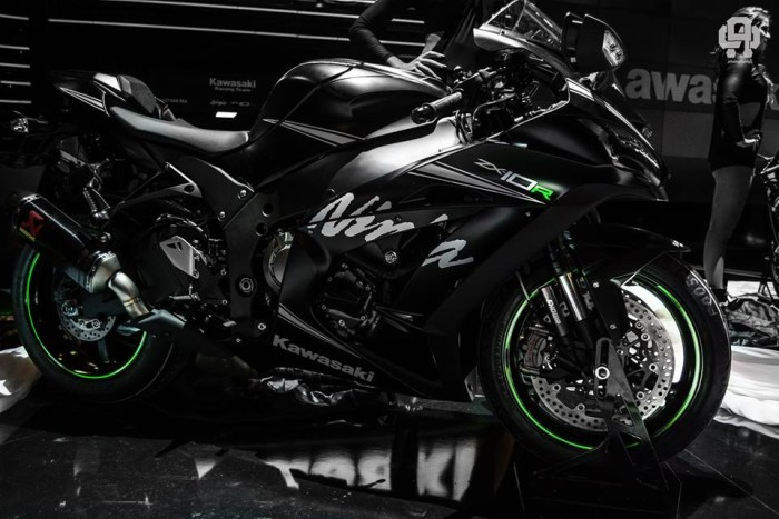 Kawasaki Ninja ZX-10R 2016 Winter Test Edition FUYU