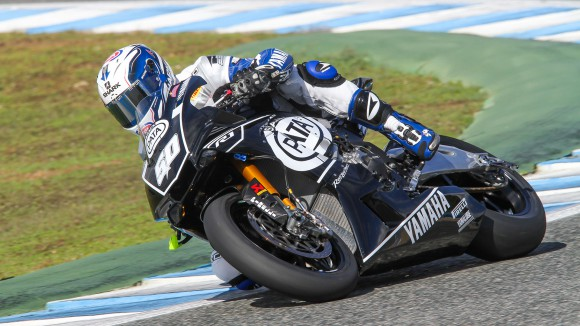 Test Yamaha WSBK nuova YZF-R1