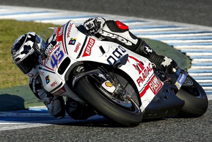 Scott Redding Ducati Pramac Test MotoGP Jerez