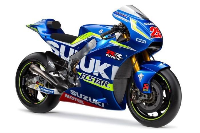 """Suzuki svela ad Eicma la GSX-RR 2016: """"Lotteremo con i Top-Rider"""""""