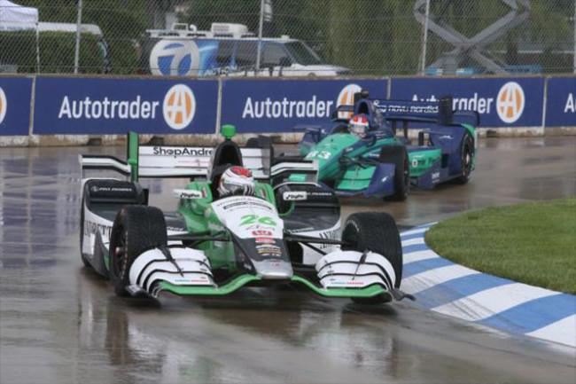 Munoz con Andretti