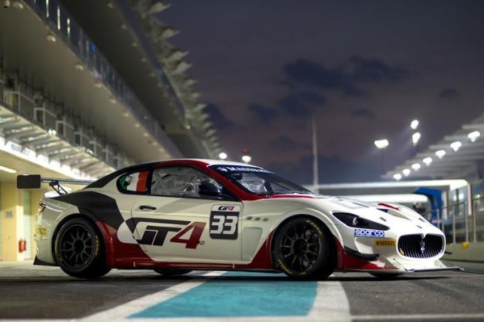 Maserati GranTuismo MC GT4 Abu Dhabi