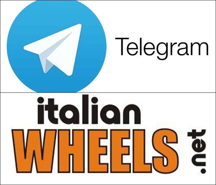 ITALIANWHEELS arriva su Telegram: rimani sempre aggiornato con le Notifiche Push