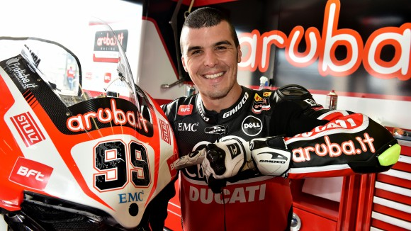 Luca Scassa Ducati Panigale R Superbike 2015