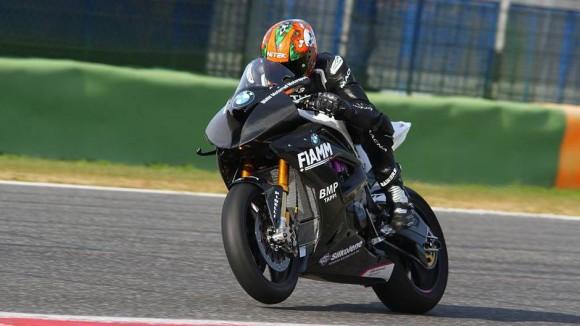 Test per Torres e Reiterberger a Vallelunga con la BMW S1000RR