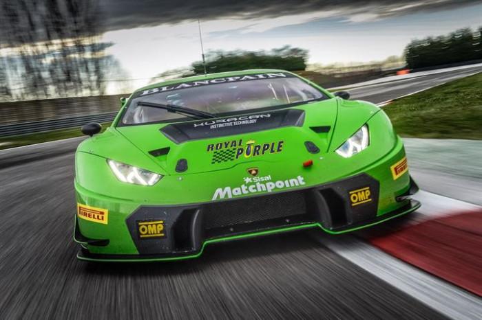 Lamboghini Huracan Imperiale Racing GT Italia 2016