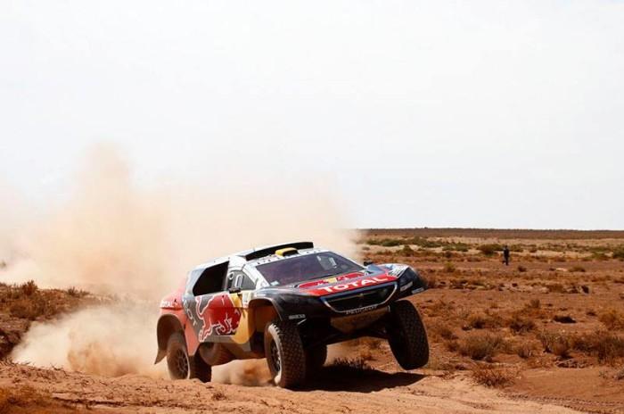 Dakar, 6° tappa: Peterhansel prende il comando, Price vince di nuovo