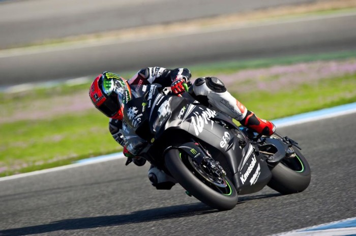 Tom Sykes Kawasaki Ninja test jerez 2016 superbike