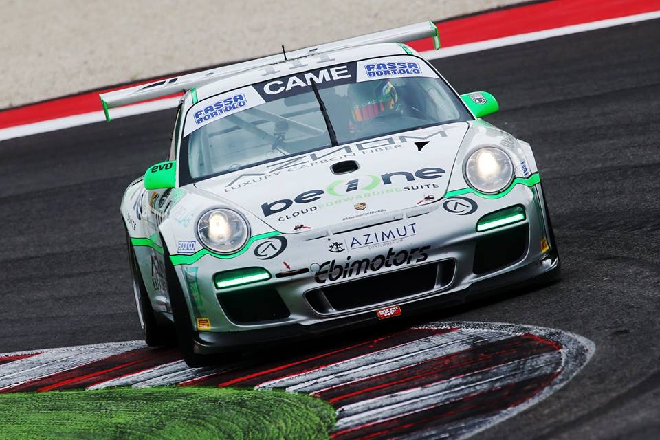 Tommy Maino GT Italia 2015 Porsche 997 GT3 Cup Ebimotors
