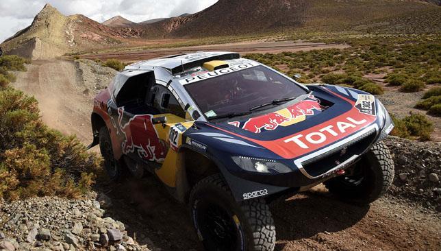 Sebastien Loeb Peugeot 2008 DKR Dakar 2016
