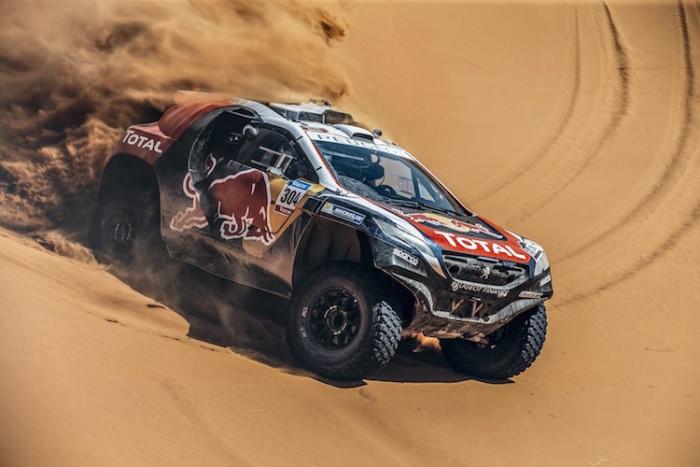 Dakar 2016 Peugeton 2008 DKR Sebastian Loen
