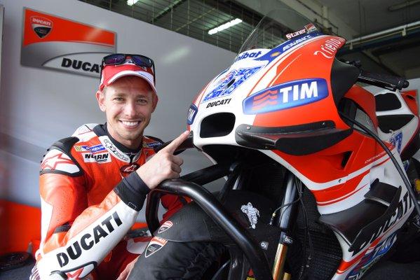 Casey Stoner Ducati Desmosedici GP15 Test Sepang 2016 MotoGP