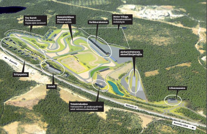KymiRing: la Finlandia vuole la MotoGP nel 2017/18