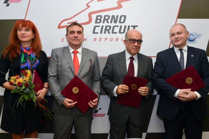 MotoGP: Dorna e Brno rinnovano fino al 2020
