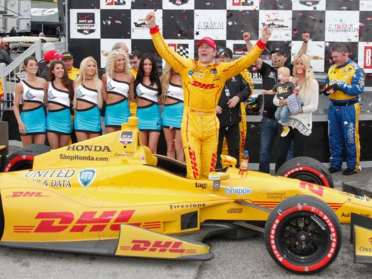 All'asta l'auto di Hunter-Reay