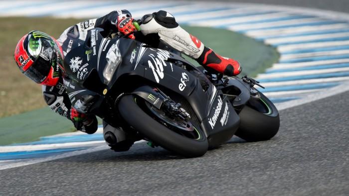 Test Kawasaki SBK 2016