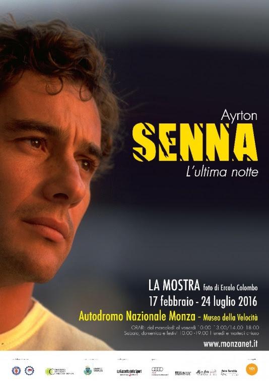 """""""Ayrton Senna. L'ultima notte"""": a Monza la mostra sulla Leggenda brasiliana"""
