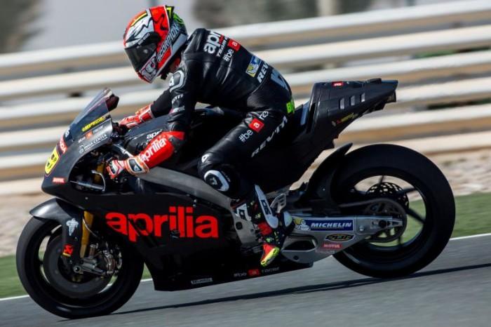 MotoGP, Aprilia RS-GP 2016: buona la prima in Qatar