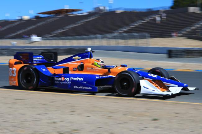 Partono i test IndyCar