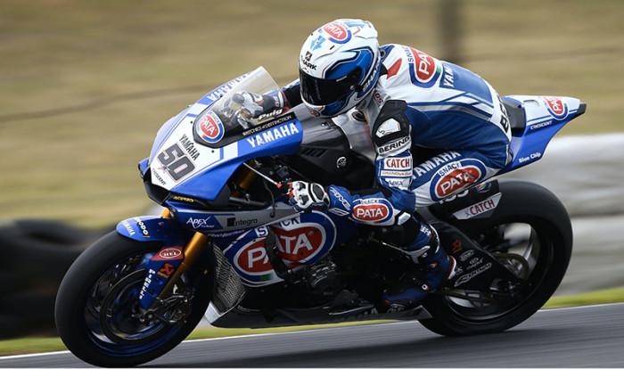 SBK, le Yamaha ci sono: Guintoli è il più veloce del Day2, Lowes 3°