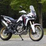 Honda Africa Twin CRF 1000 L Test Ride Italian Wheels
