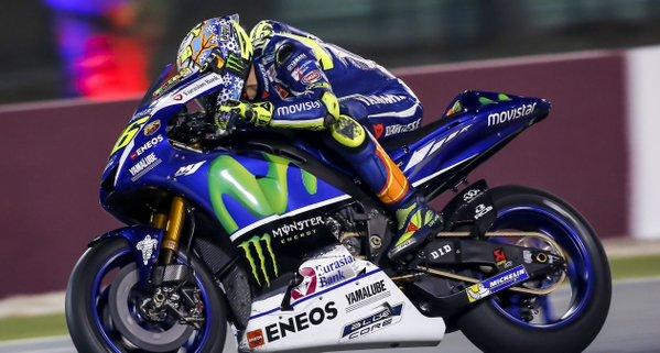 Valentino Rossi MotoGP 2016 Test Qatar Yamaha M1
