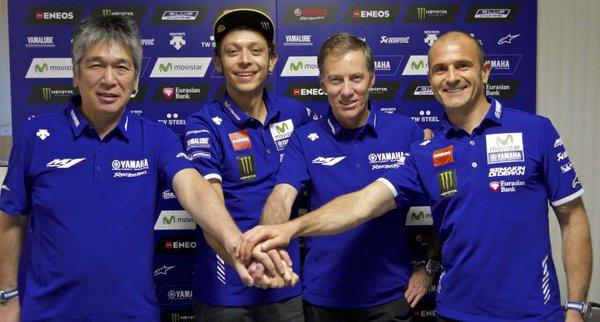 La firma è arrivata: Rossi e Yamaha insieme fino al 2018!