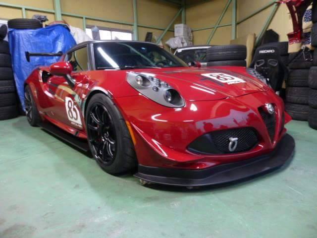 Dal Giappone con furore: in allestimento l'Alfa 4C Stilenia Racing