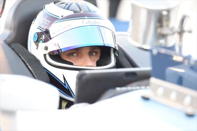 Max Chilton in IndyCar