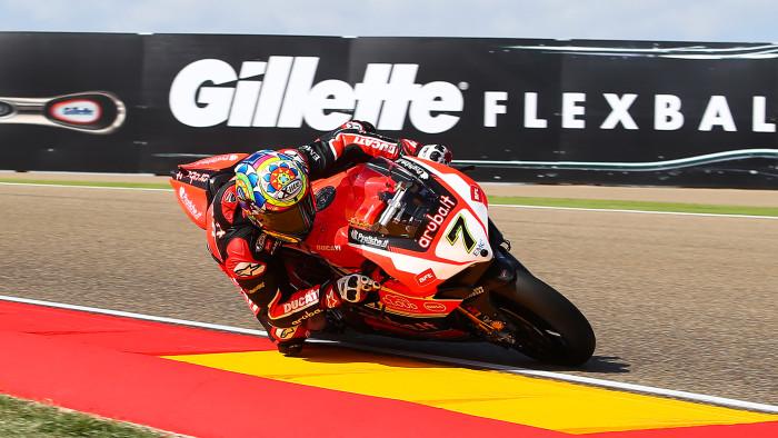 Superbike: Davies irraggiungibile vince ad Aragon Gara-1 davanti alle Kawasaki