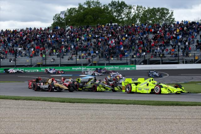 Pagenaud vince a Indy