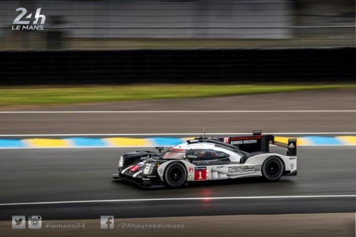 Porsche 919 Hybrid Mark Webber 24 Ore di Le Mans 2016