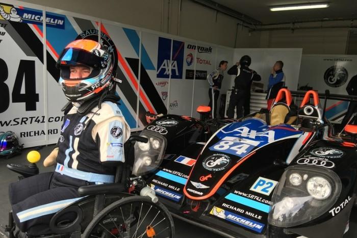 Grazie Frédéric Sausset, a Le Mans hai vinto tu!