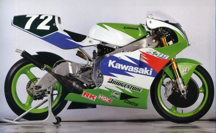 Storie di Motori: Il mistero della Kawasaki X-09