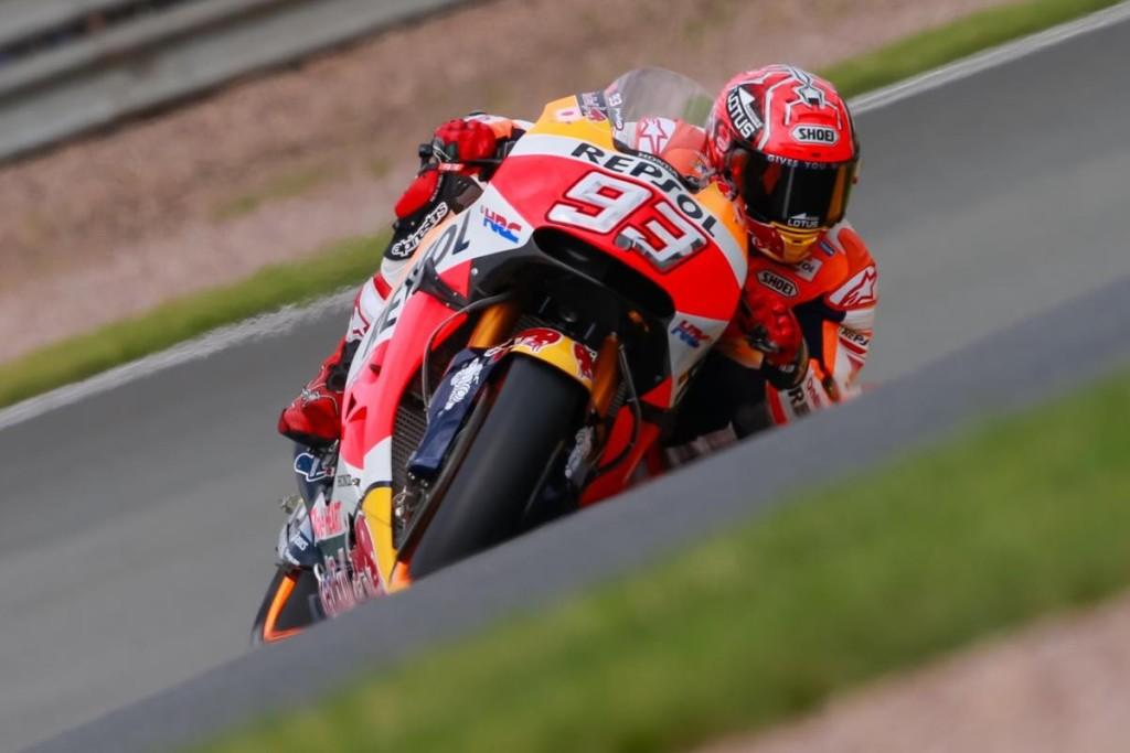 Al Sachsenring è capolavoro Marquez-Honda. Premio alla stupidità per Rossi e Dovi
